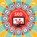 SEO (Search Engine Optimization) Infographic Concept 4