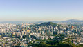 Seoul Panorama Royalty Free Stock Photography