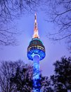 Seoul Tower Royalty Free Stock Photos