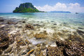 Separated sea thale waek krabi thailand Royalty Free Stock Photography