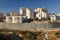 Separation wall. Israel. Royalty Free Stock Photography