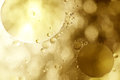 Sepia bubbles Royalty Free Stock Photos