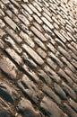 Sepia cobblestone Stock Image