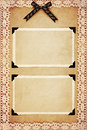 Sepia photo frames Royalty Free Stock Photo