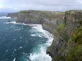 September cliffs moher west coast ireland Royalty Free Stock Photo
