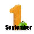 September date vector illustration this is file of eps format Royalty Free Stock Photography