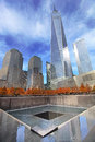 September 11 Memorial, World Trade Center Royalty Free Stock Photo