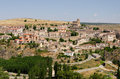 Sepulveda city overview of in the province of segovia spain Royalty Free Stock Photography