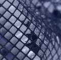 Sequined back Stock Photo