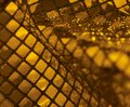 Sequined back a abstract orange reflective background Royalty Free Stock Image