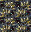 Sequins Seamless Pattern. Vector Background.