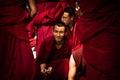 Sera Monastery a smiling Debating Monk of Lhasa Tibet