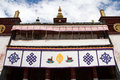 Sera monastery the view of one of the biggest temple of tibet Royalty Free Stock Photos