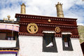 Sera monastery the view of one of the biggest temple of tibet Stock Image