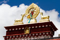 Sera monastery the view of one of the biggest temple of tibet Stock Photography