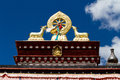 Sera monastery the view of one of the biggest temple of tibet Royalty Free Stock Image