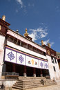 Sera monastery the view of one of the biggest temple of tibet Royalty Free Stock Photography