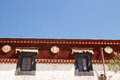 Sera monastery the view of one of the biggest temple of tibet Royalty Free Stock Images