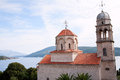 Serb Orthodox Savina monastery Royalty Free Stock Photo