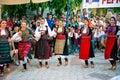 Serbian Dancing Girls Royalty Free Stock Photo