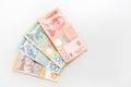 Serbian dinars bills Royalty Free Stock Photo