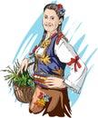 Serbian folklore Royalty Free Stock Photo