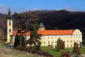 Serbian holy mountain orthodox monastery in fruska gora Royalty Free Stock Images