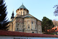 Serbian holy mountain orthodox monastery in fruska gora Stock Photo
