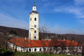 Serbian holy mountain orthodox monastery in fruska gora Royalty Free Stock Image