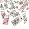 Serbian money Stock Photos
