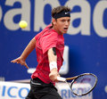 Serbian tennis player Filip Krajinovic Royalty Free Stock Image