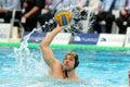 Serbian waterpolo player Marko Cuk Royalty Free Stock Photo