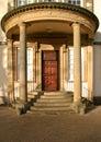 Serby Hall Entrance