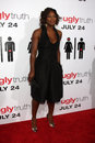 Serena williams arriving at the ugly truth premiere at the cinerama dome at the arclight theaters in los angeles ca on july kathy Royalty Free Stock Photos