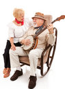 Serenading His Sweetie Royalty Free Stock Photo