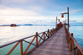 Serenity Boardwalk Royalty Free Stock Photography