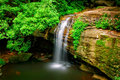 Serenity falls in buderim on queensland s sunshine coast Stock Photography