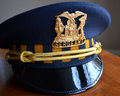 Sergeant Police Hat Royalty Free Stock Photo