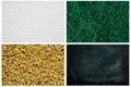 Serie di struttura lana d acciaio verme della farina tela di tela lavagna sporca Immagine Stock Libera da Diritti