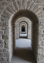 Series of archways Royalty Free Stock Photo