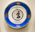 Series of plates with caricatures allegorical and literary sce moscow russia september scenes era factory sholshe museum the Stock Photo