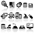 Series vector icons set eps file available Royalty Free Stock Photography