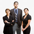 Serious business people Royalty Free Stock Images