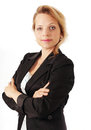 Serious businesswoman portrait of a with confident look Stock Images