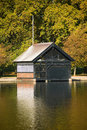 Serpentine Lake Boathouse (London) Royalty Free Stock Images