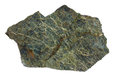 Serpentinite from the Troodos ophiolite in Cyprus Royalty Free Stock Photo