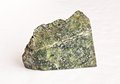 Serpentinite on white ural s stone Stock Images