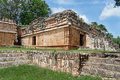 Serpents Temple in Labna Yucatan Mexico Stock Photos