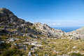 Serra de Tramuntana - mountains on Mallorca Royalty Free Stock Photography