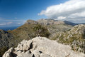 Serra de tramuntana mountains on mallorca spain Stock Photo